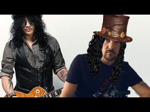 Slash - реакция на Fredguitarist