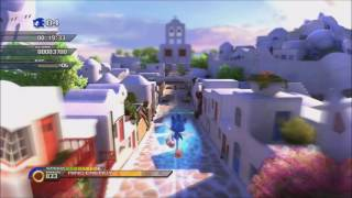 Sonic Unleashed Windmill Isle Act 4 Speedrun 00:32:25