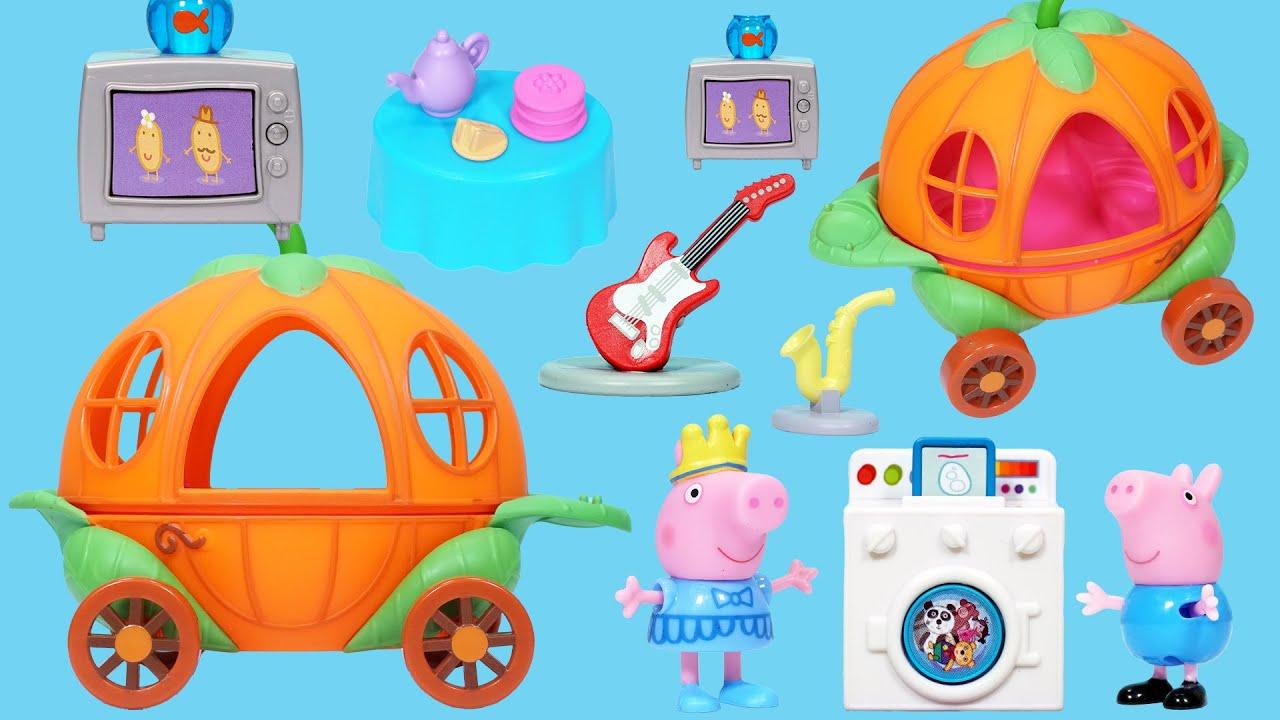 佩佩豬的魔法南瓜車玩具
