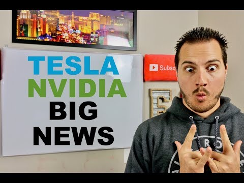 ELON MUSK BIG TESLA NEWS & NVIDIA STOCK CRASHES ON EARNINGS