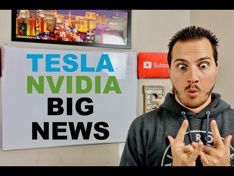 ELON MUSK BIG TESLA NEWS & NVIDIA STOCK CRASHES ON EARNINGS