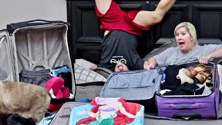 ALREADY PACKING AGAIN?!