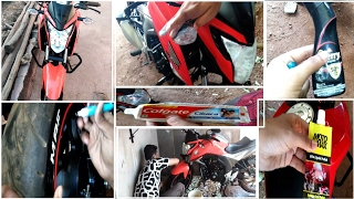 How to Wash,Protect and Maintain a vehicle | Honda Hornet 160r. thumbnail