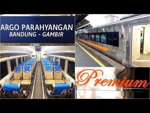 Trip by Train - Argo Parahyangan Premium Stainless Steel