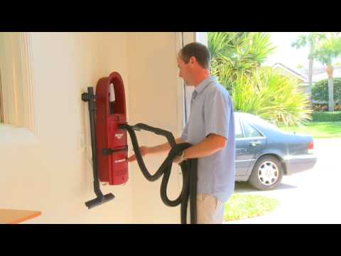 garagevac the ultimate wall mount garage vacuum