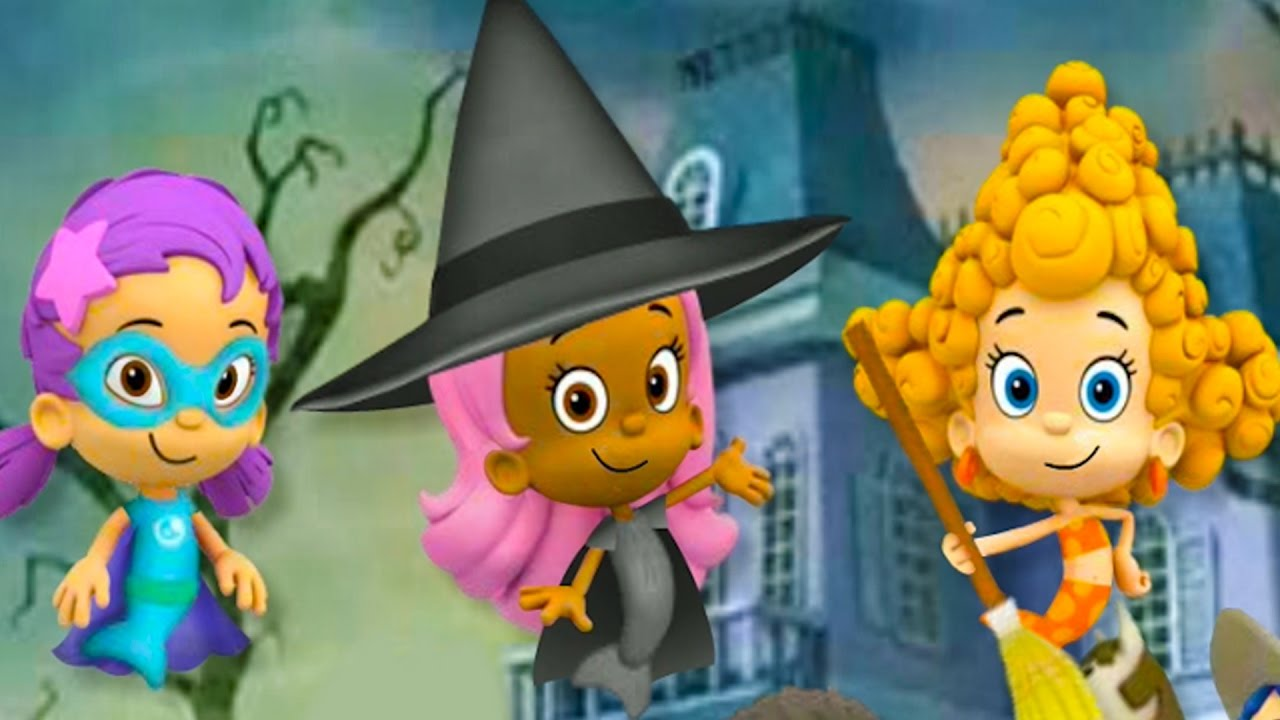 Molly Games Halloween / Bubble Guppies Full GAME Nick Jr ...