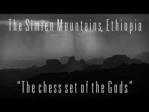 Trekking in the Simien Mountains, Ethiopia