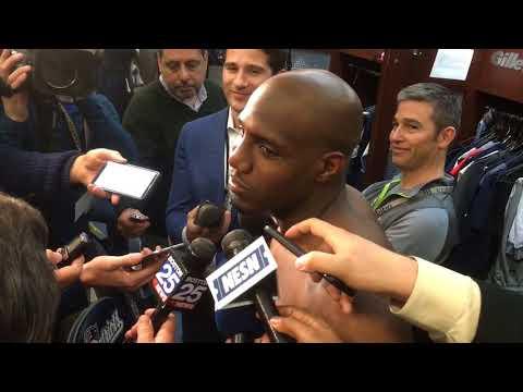"Duron Harmon says Tom Brady did ""goat-like stuff"" in AFC Championship"