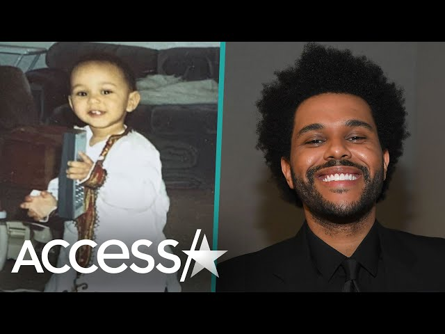 The Weeknd Shares Rare Childhood Family Photos