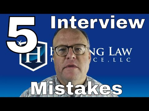 Five Mistakes NOT To Make At Your Immigration Interview