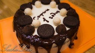 Супер шоколадный торт А-ля Вупи Пай со сливочным крем-чизом . Рецепт.