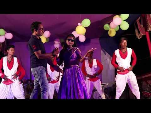 New santali stage dance