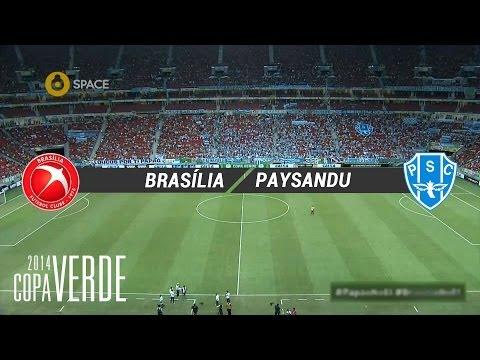 Gols - Brasília 2 x 1 Paysandu - Copa Verde 2014 - 21/04/2014