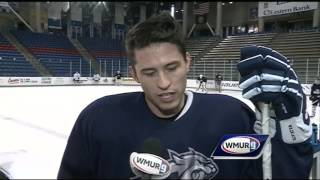 UNH hockey reacts to weekend with Providence