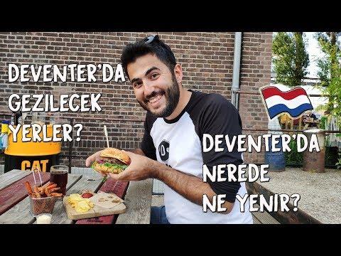Deventer'da Gezilecek Yerler ve Deventer'da Nerede Ne Yenir?