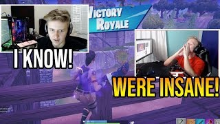 Tfue & Symfuhny (The Best Fortnite Duo) Win 4 *PRO* Scrim Games in a Row
