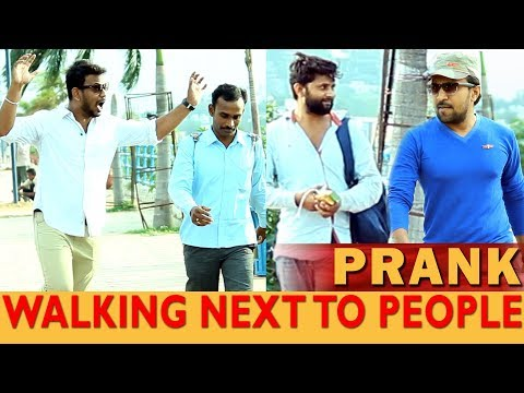Walking Next To People Prank in Hyderabd | Pranks in India | Telugu Pranks | FunPataka