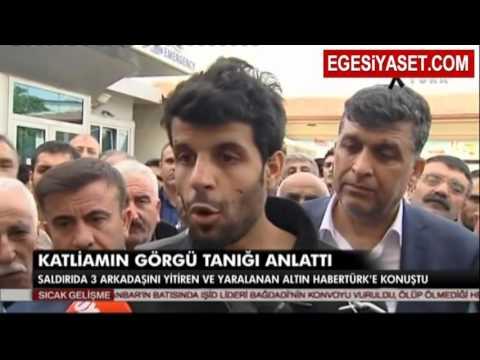 Ankara'daki Saldırının Görgü Tanığı O Anları Anlattı