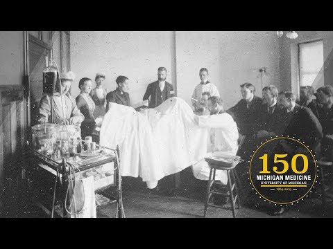 150 Years Of The University Of Michigan's Academic Medical Center