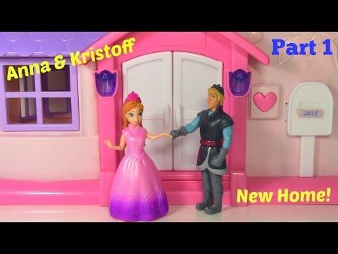 Disney Frozen Anna and Kristoff Get a New Home PART 1 Frozen Parody