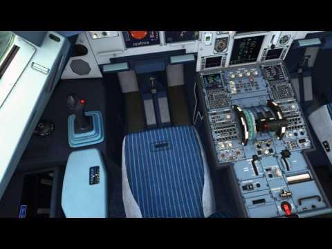🔴 [FSX HD] Airbus A319 LATAM - Brasília Rio de Janeiro-Santos Dumont (BSB-SDU)