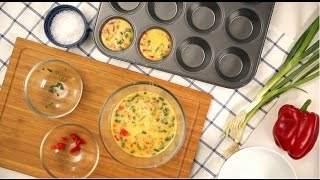Quick & Easy Egg Muffins! Quick and Simple Breakfast Recipes. | #tryvivawet