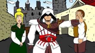 Аssassin's creed vs Hitman - мульт пародия