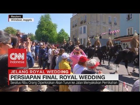 Persiapan Final Royal Wedding Meghan-Harry, Warga Inggris Antusias