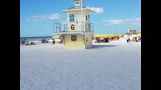 Clearwater Beach October afternoon