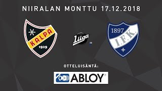 Ennakko: KalPa - HIFK, 18.12.2018: Marko Tuomainen ja Tommi Jokinen