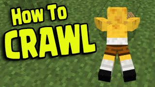 Minecraft PS3, PS4, Xbox, Wii U - HOW TO CRAWL
