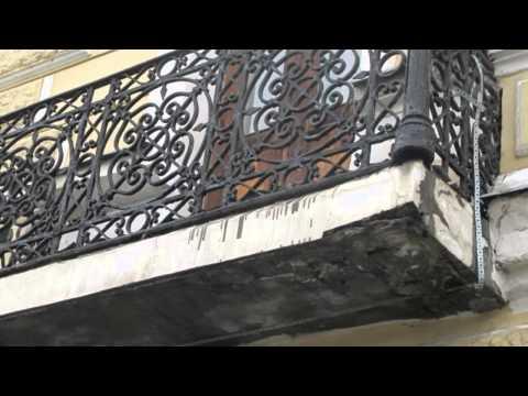видео: Реставрация фасада, востановление лепнины