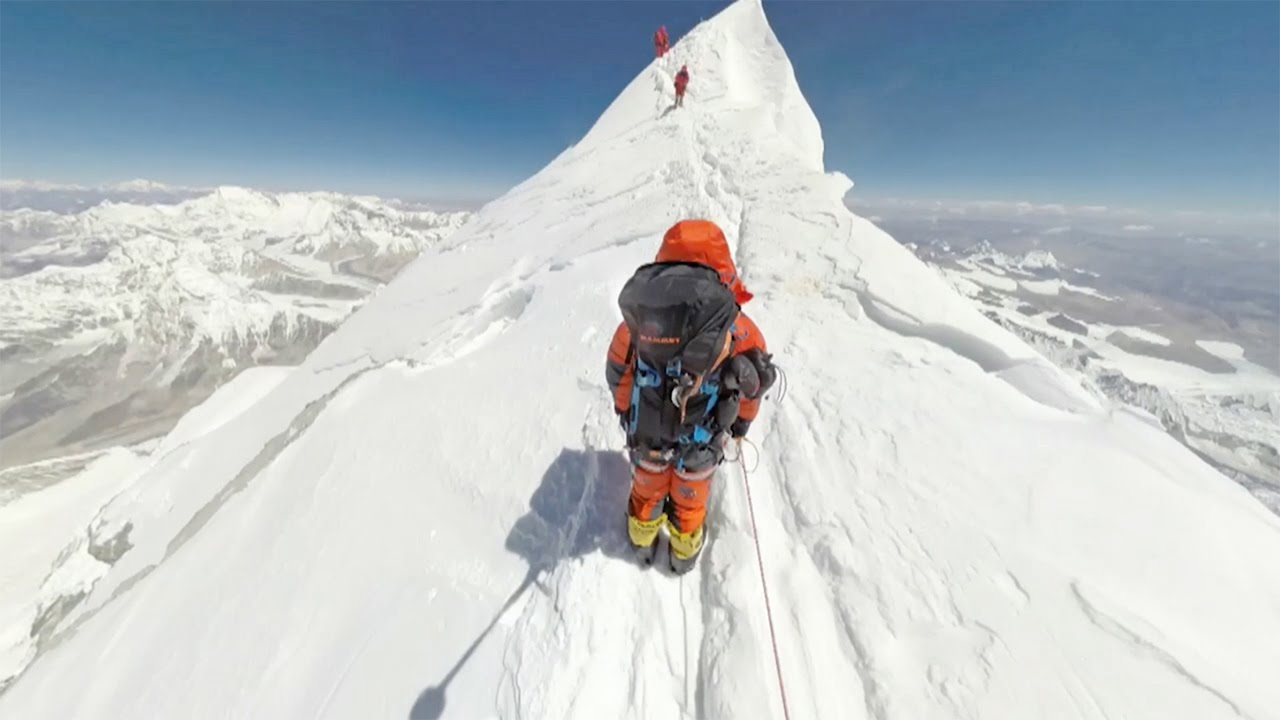 World's First 360 Photos of Mount Everest - YouTube