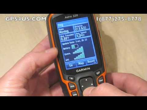Tracking A Dog With Garmin Astro 320