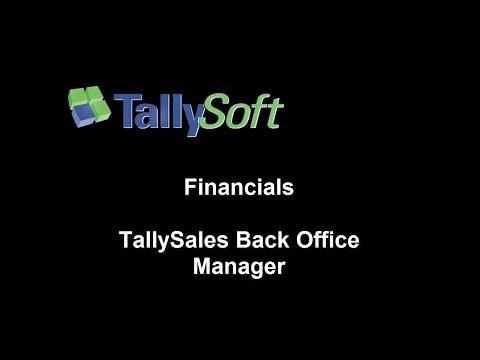 TallySales Financials