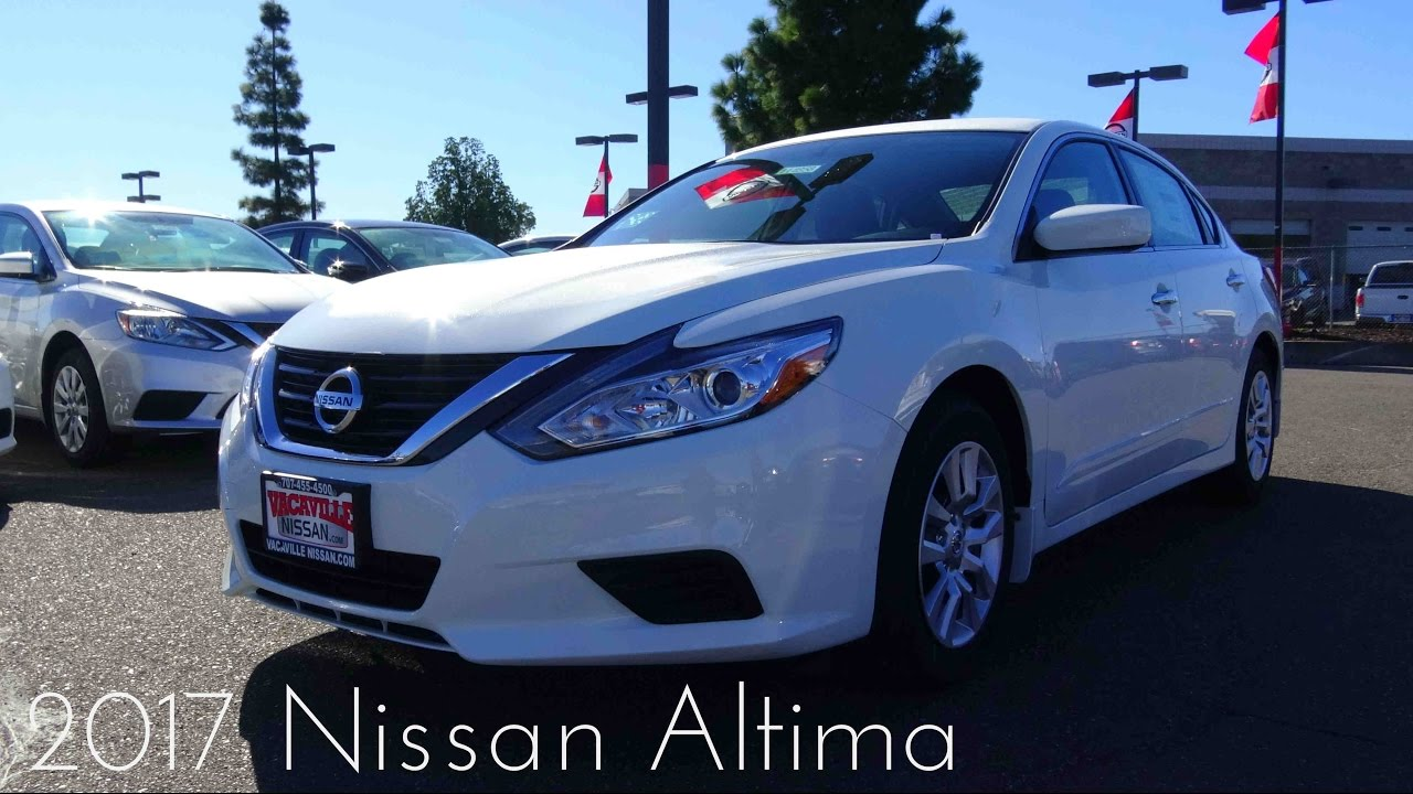 2017 nissan altima 2 5 l 4 cylinder review. Black Bedroom Furniture Sets. Home Design Ideas
