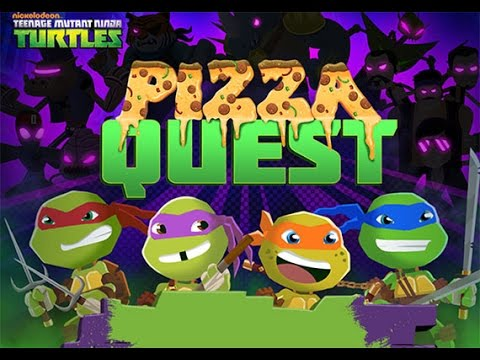 Ninja Turtles Pizza Quest - Черепашки Ниндзя Пицца игра