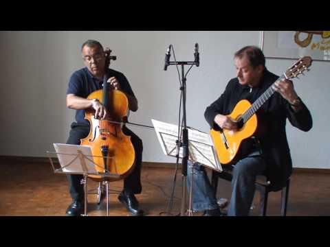 Frédéric Burgmueller-Nocturne-cello and guitar
