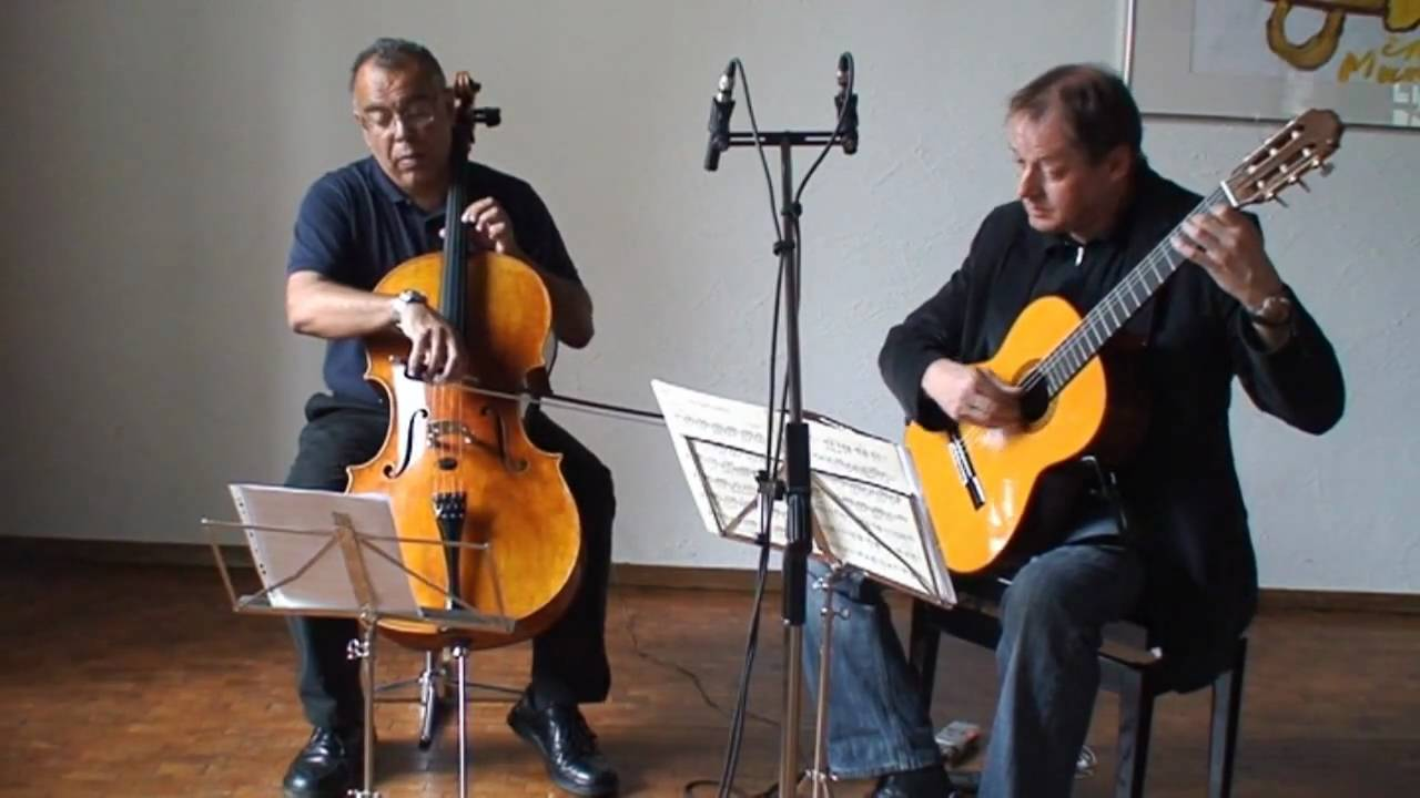 Frédéric Burgmueller-Nocturne-cello and guitar
