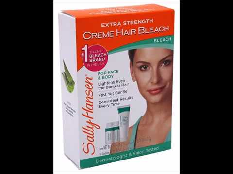 Sally Hansen Extra Strength Creme Hair Bleach For Face Body 1 5 Oz 3 Pack