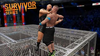 WWE 2K16 - John Cena vs. Big Show -Hell In A Cell  Match- at survivor series 2016(PS4)