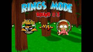 TENNIS TITANS -  Game House (RINGS MODE) ROUND 03 SHADY VS BELLA