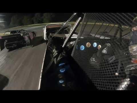 9-13-19 US 30 Speedway Late Model Heat Race Cory Dumpert in car camera