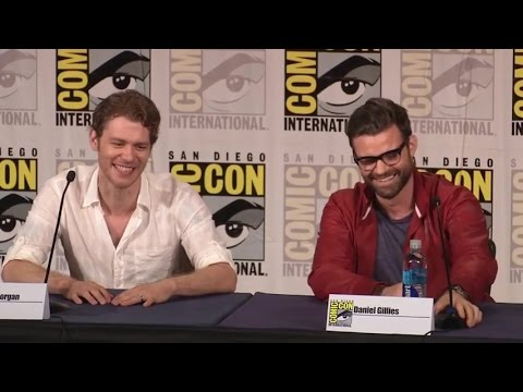 The Originals Comic Con Panel 2016 - Joseph Morgan, Daniel Gillies, Phoebe Tonkin