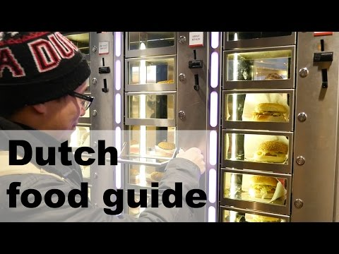 Amsterdam and Dutch food guide - Holland/Netherlands is full of great snacks!