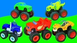 Мультики для детей. Вспыш и чудо машинки – Купание! Игрушки для детей