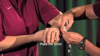 Rigid Splint & Sling QT Movie
