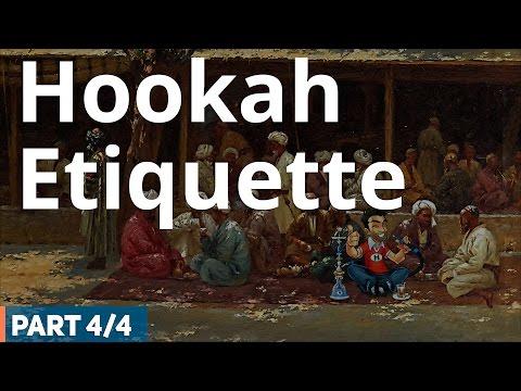 Hookah Etiquette – Hookah (Shisha) Smoking Etiquette (4 /4)