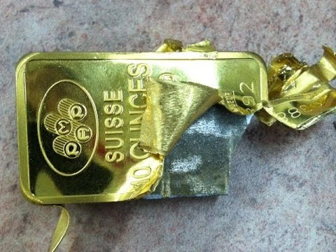 Counterfeit Gold ? Secure and Transactable 24K Gold Bullion is the solution.