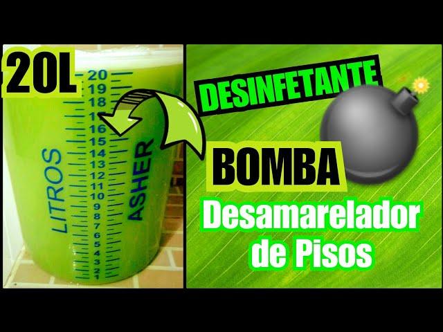 ????Desinfetante BOMBA????DESAMARELADOR de Pisos - EUCALIPTO/Elisangela Evaristo